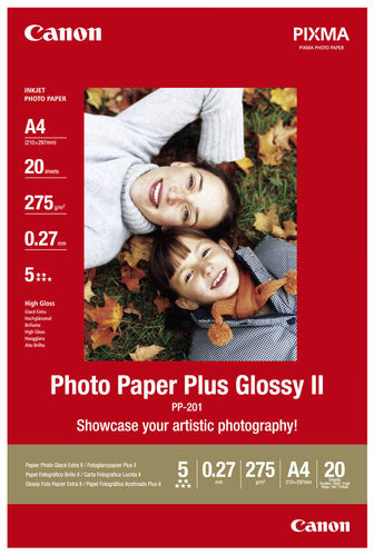 Canon Fotopapier Plus Glossy ll PP-201 A4