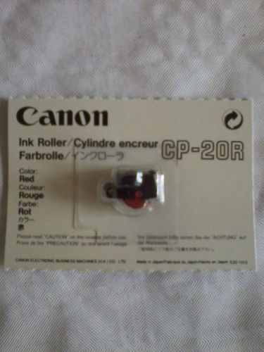 Canon Farbrolle CP-20R rot