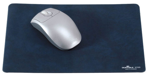 Durable Mousepad blau 300x200x2 mm