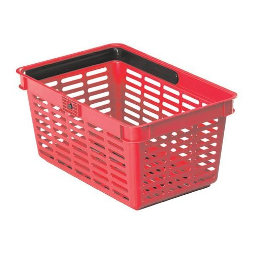 Durable Shopping Basket 19 rot