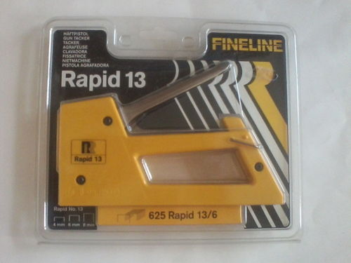 Rapid 13  Handtacker gelb