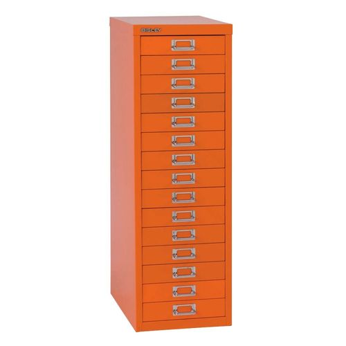 Bisley  MultiDrawer L3915  Schubladenschrank   A4  orange