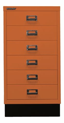 Bisley  MultiDrawer L29A36S  Schubladenschrank   A3  orange